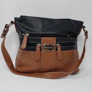 Stone & Co. Black and Brown Purse
